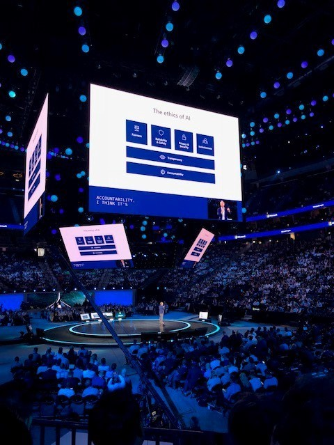 Microsoft Inspire 2018 - KeyNote Satya Nadella