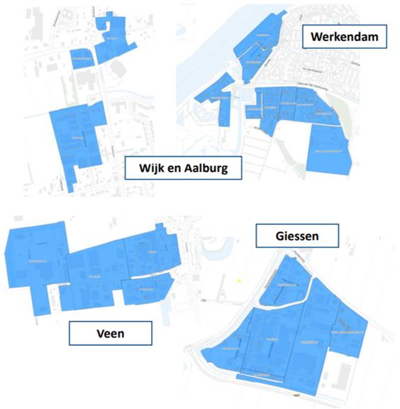Screenshot Google Maps Glasvezel Altena